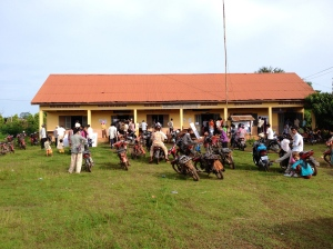 The polling station I was deployed to.